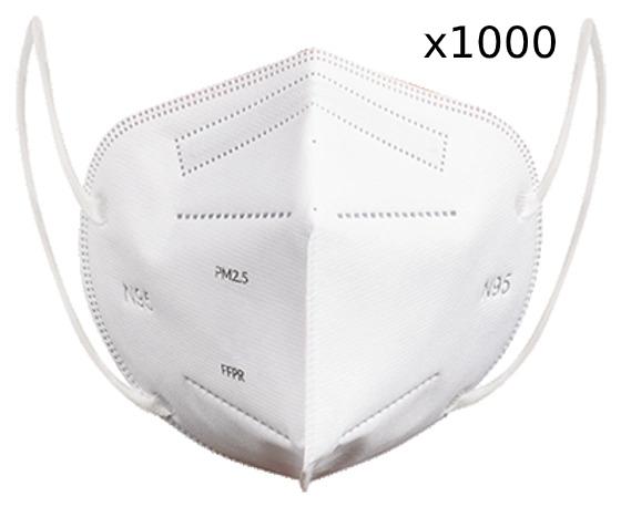 N95 Masks Quantity of 1000